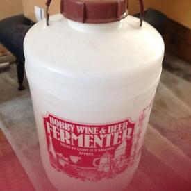 Demi jars and fermenter