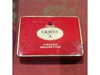Craven A Tin