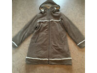 Ladies thick, winter, hooded coat. Animal size 16 (fit 14/16)