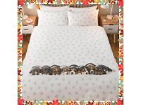 Sleeping Puppies Single Duvet Set