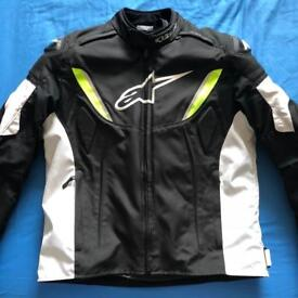 Alpinestar waterproof jacket & gloves