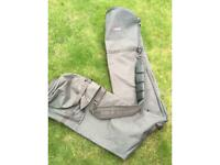 Fishing rod and brolly holdall