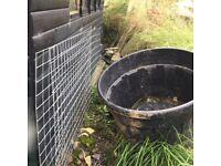 Galvanised heavy gauge mesh