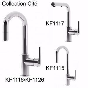 15 modèles de robinets de cuisine, Kalia