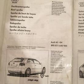 Audi A3 full body kit