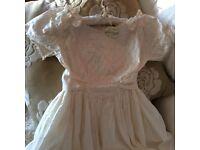 Unworn Ivory bridesmaid dress 12yr old size 152cm