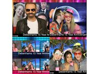 *Photo Booth Hire Edinburgh, The Lothians & Fife - For Weddings, Engagements, Birthdays, Parties