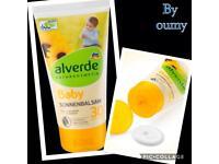 Alverde natural baby kids sun cream