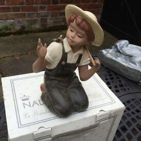 """""""Nadal"""" figurine."""