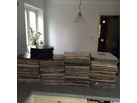 600 Records Job Lot Mixed Genres.