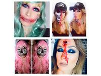 Sfx Halloween Makeup Artist Hair Stylist Horror Movie