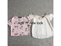 Girls clothes age 9-10-11