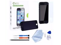 Tonor iPhone 5s LCD Screen Replacement Kit,With Black Digitizer