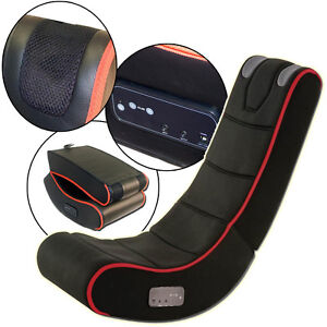 Playstation ipad gaming chair audio cyber rocker xbox pc computer lightweight ebay for Chaise gamer pc