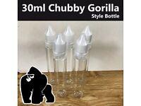 30ml Chubby Gorilla Unicorn Bottles - 5 from £5.69