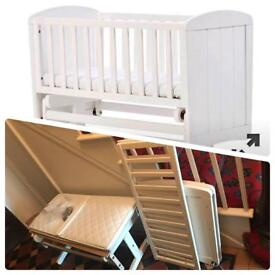 Gliding Mothercare Crib