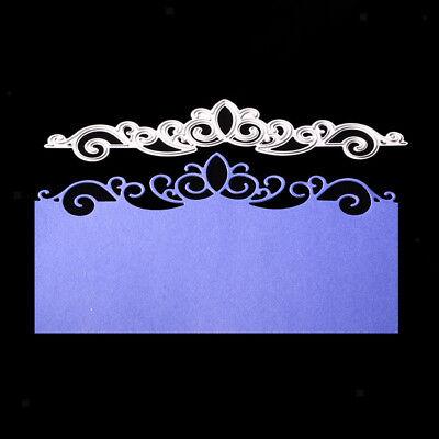 Metal Cutting Dies Stencil Scrapbooking Cards Paper Album DIY Wedding Crown - Diy Paper Crown