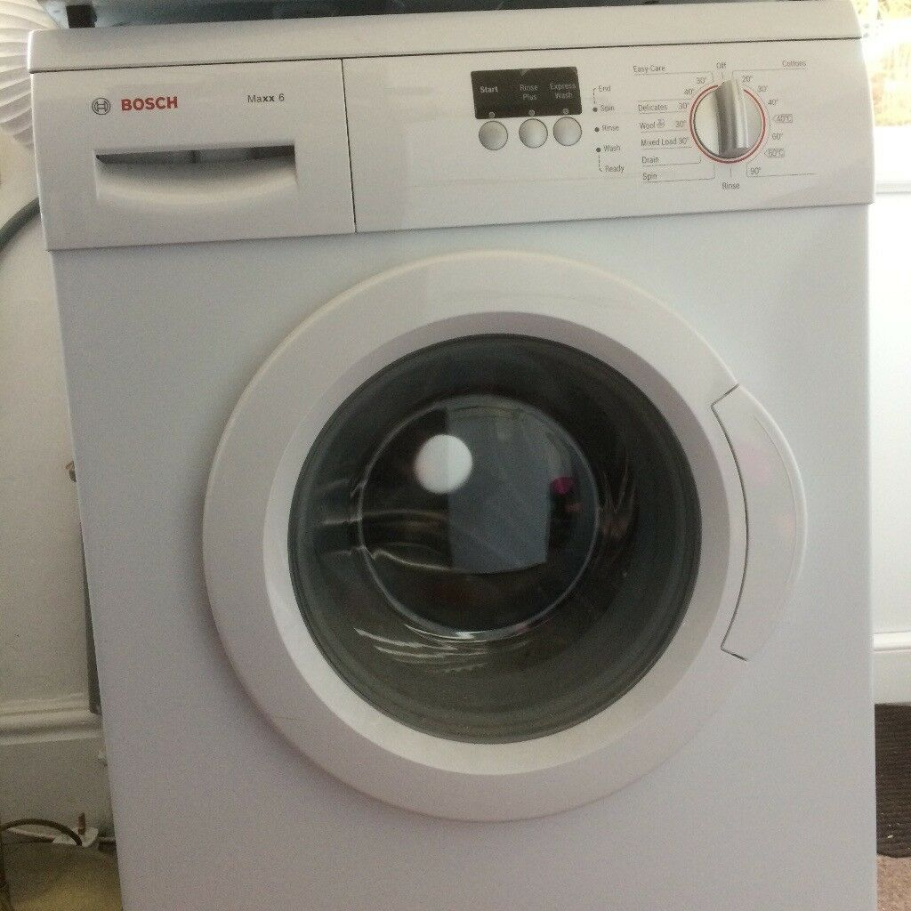 bosch maxx 6 washing machine in paignton devon gumtree. Black Bedroom Furniture Sets. Home Design Ideas