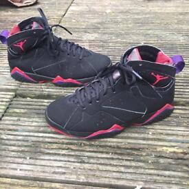 Nike air Jordan 7 raptor trainers size 6