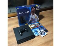Playstation 4 pro + 5 Games Sony PS4 PRO