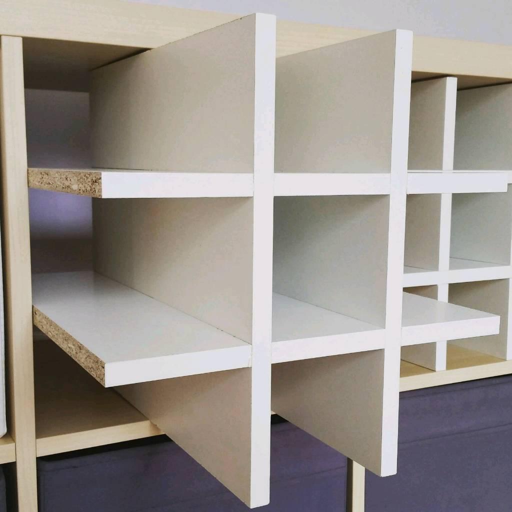 Wine Rack Insert For Kallax Cube Ikea Storage Unit