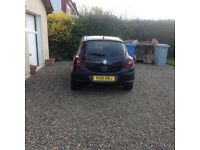 Black corsa great condition 2 owners from new genuine mileage mot and tax