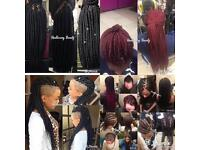 Professional Mobile Hairdresser/hairstylist (Braids&Weaves for all hair types)