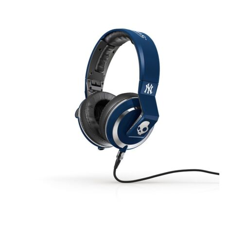 Skullcandy S6MMFM-277 Mix Master New York Yankees DJ Headphones