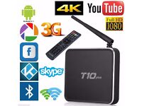 T10plus Android 5.1 Quad Core 2GB/16GB WIFI 4K 3D KODI XBMC TV BOX Media Player
