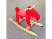 Rocking horse - IKEA wooden rocking moose EKORRE