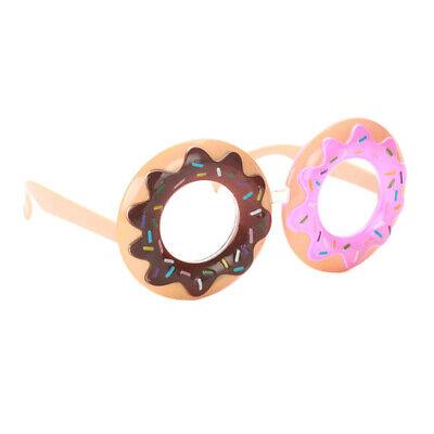 Neuheit Party Sonnenbrille lustige Donut geformte Brille Kostüm Requisiten