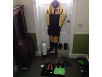 Job lot of dive gear