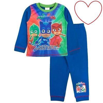 Kleinkind Jungen Pyjama Masken Pyjama Set Nachtwäsche Schlafanzüge Geschenk ()