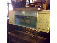 Reduced vintage 60s quirky sideboard