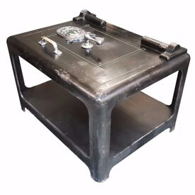 Vintage Safe Coffee Table