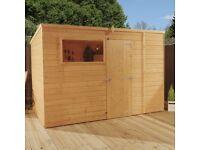 10 x 6 pent shiplap shed