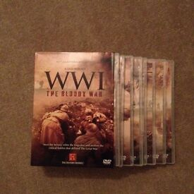 World War 1 History channel 8 DvD box set