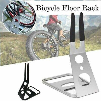 Parking Rack (Metal Floor Parking Rack Non-Slip Mountain Bikes Sturdy Bike Stand for Road Bike )