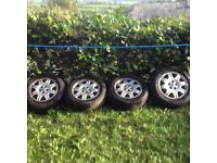 ROVER 75 - 15inch ALLOY RIMS AND TYRES