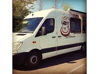 Catering Van Equipped to High Standard - Can Include Trademark, Web Tools and some merchandising.