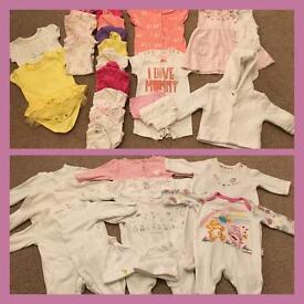 Massive newborn girl bundle