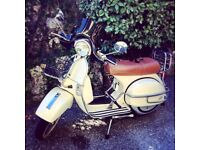 LML 200CC STAR DELUXE. 2011. VESPA LOOK.
