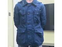 Mens C.P company nysack high tenacity nylon blue jacket, size 48/M , £170.00
