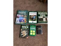 coarse fishing (bundle of books)