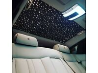 Brand New Rolls Royce Series 2 with starlights - Series 2 Rolls Royce Hire - Wedding Car Hire - Limo