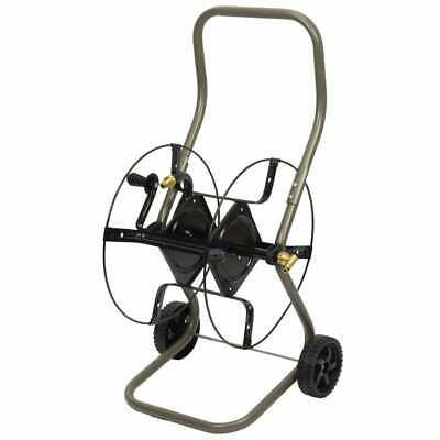 Hozelock Hose Reel Cart 85m Outdoor Garden Lawn Water Pipe Storage Tool Cart