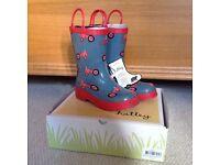 Hatley Wellington Boots Size 12