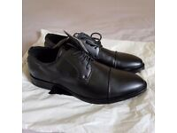 Mark and Spencer M&S Mens Black Shoes Size UK 7 EU 40.5 New
