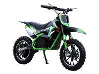 Lithium Battery 500W 36V Rockstar Electric Mini Dirt Bike 3 speed