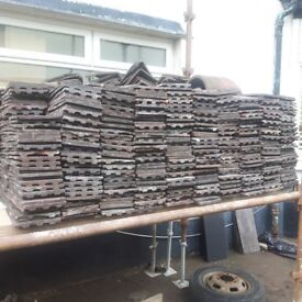 large quantity of rosemary type roof tiles